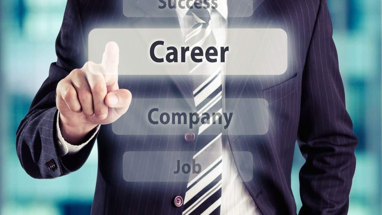 Career Button