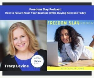 Freedom Slay Interview Tracy Levine Forbes Coaches Council and CEO Advantage Talent Inc