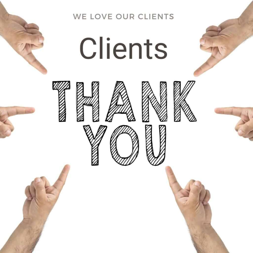 Thank you. We appreciate our customers.
