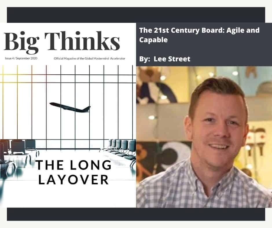 Big Thinks September 2020 Lee Street