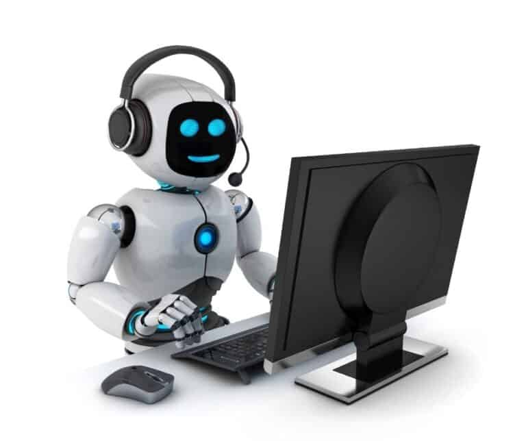 Robots interacting with Clients