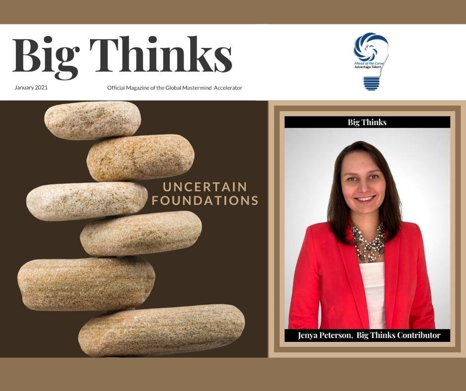 Big Thinks January 2021 Jenya Peterson