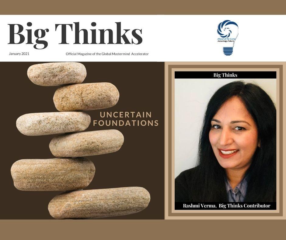 Big Thinks January 2021 Rashmi Verma