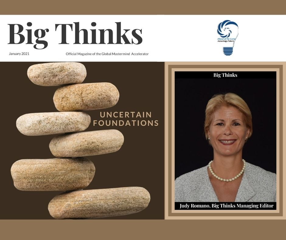 January 2021 Big Thinks Cover Judy Romano Big Thinks Judy Romano Managing Editor