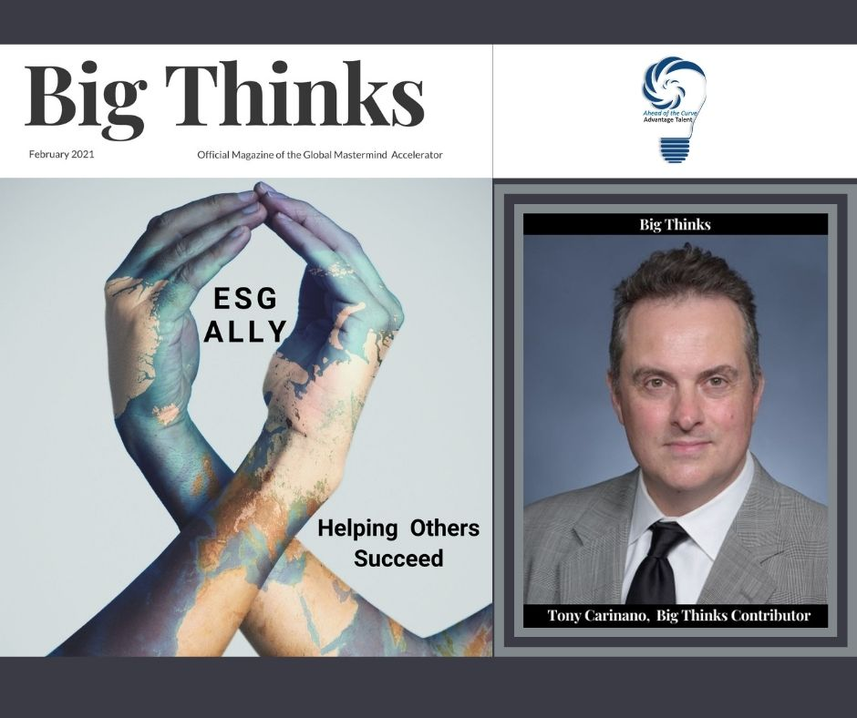 Big Thinks February 2021 ESG and the Uncertain Future of Plastic by Tony Carignano