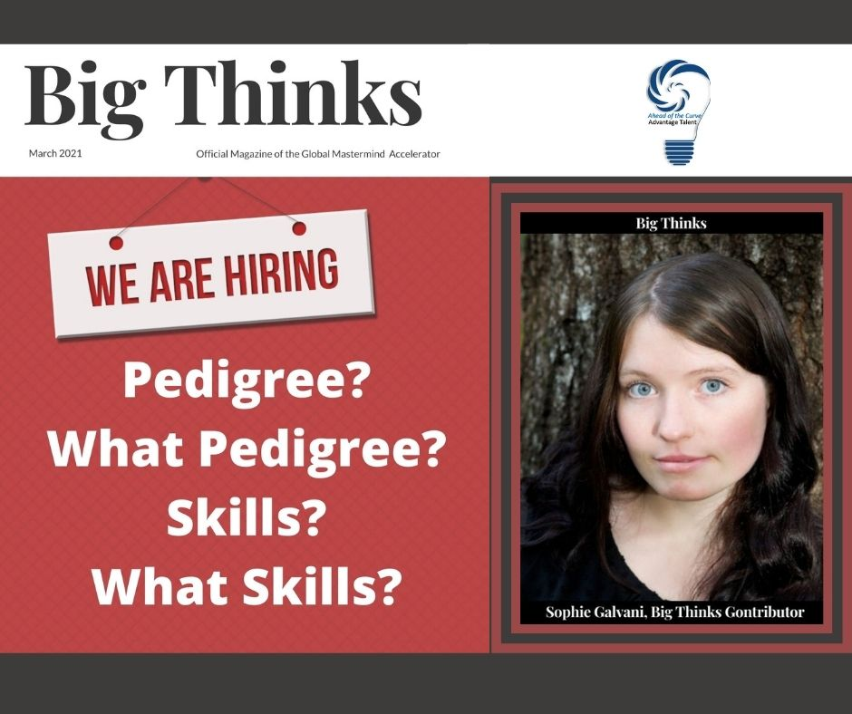 Big Thinks March 2021 Sophie Galvani Big Thinks Contributor