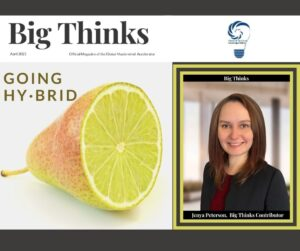 Big Thinks April 2021 Cover Jenya Peterson Contributor